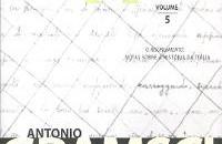 Cadernos do Cárcere – vol. 5, Antonio Gramsci